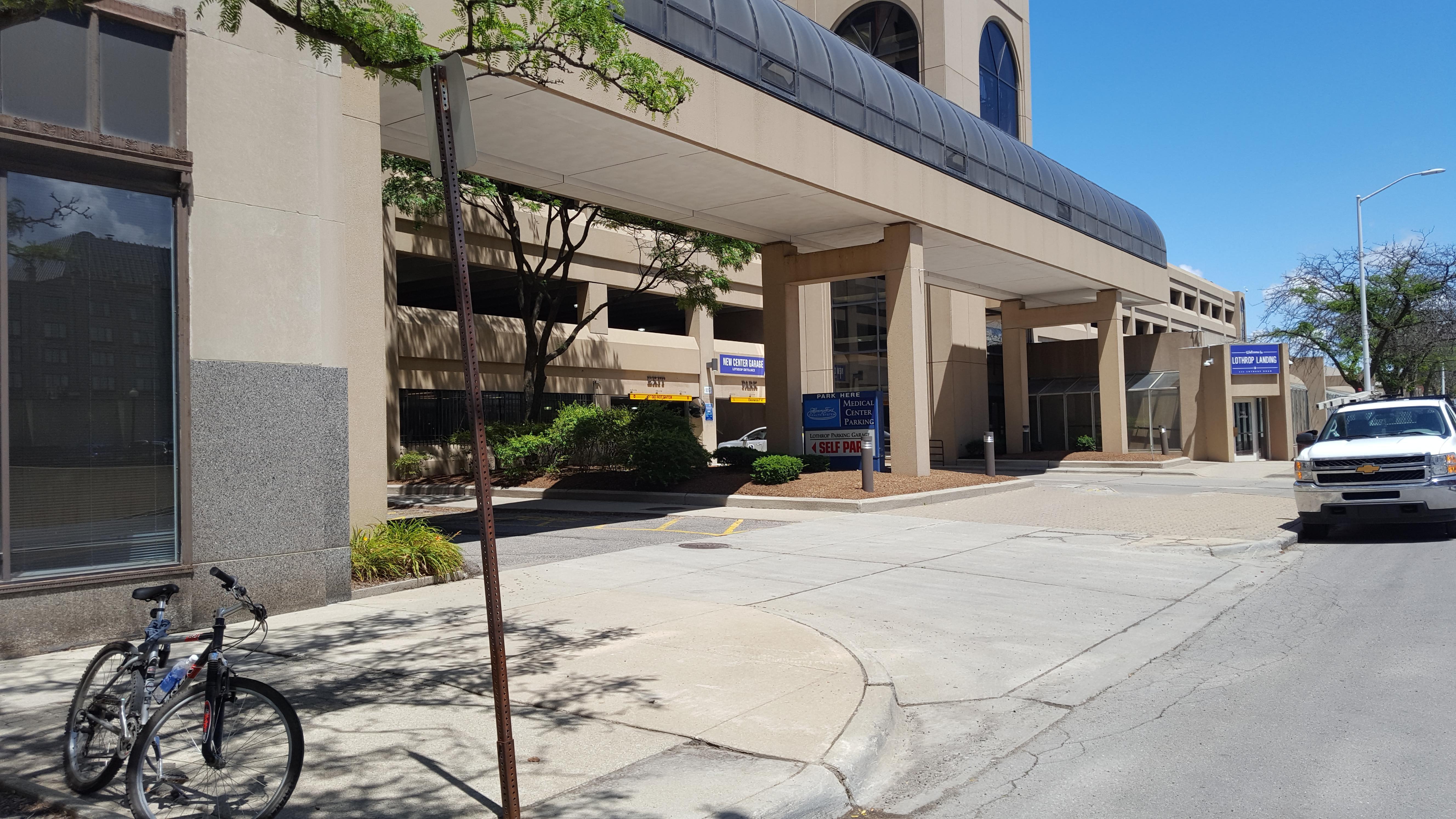 New Center Garage Parking In Detroit Parkme