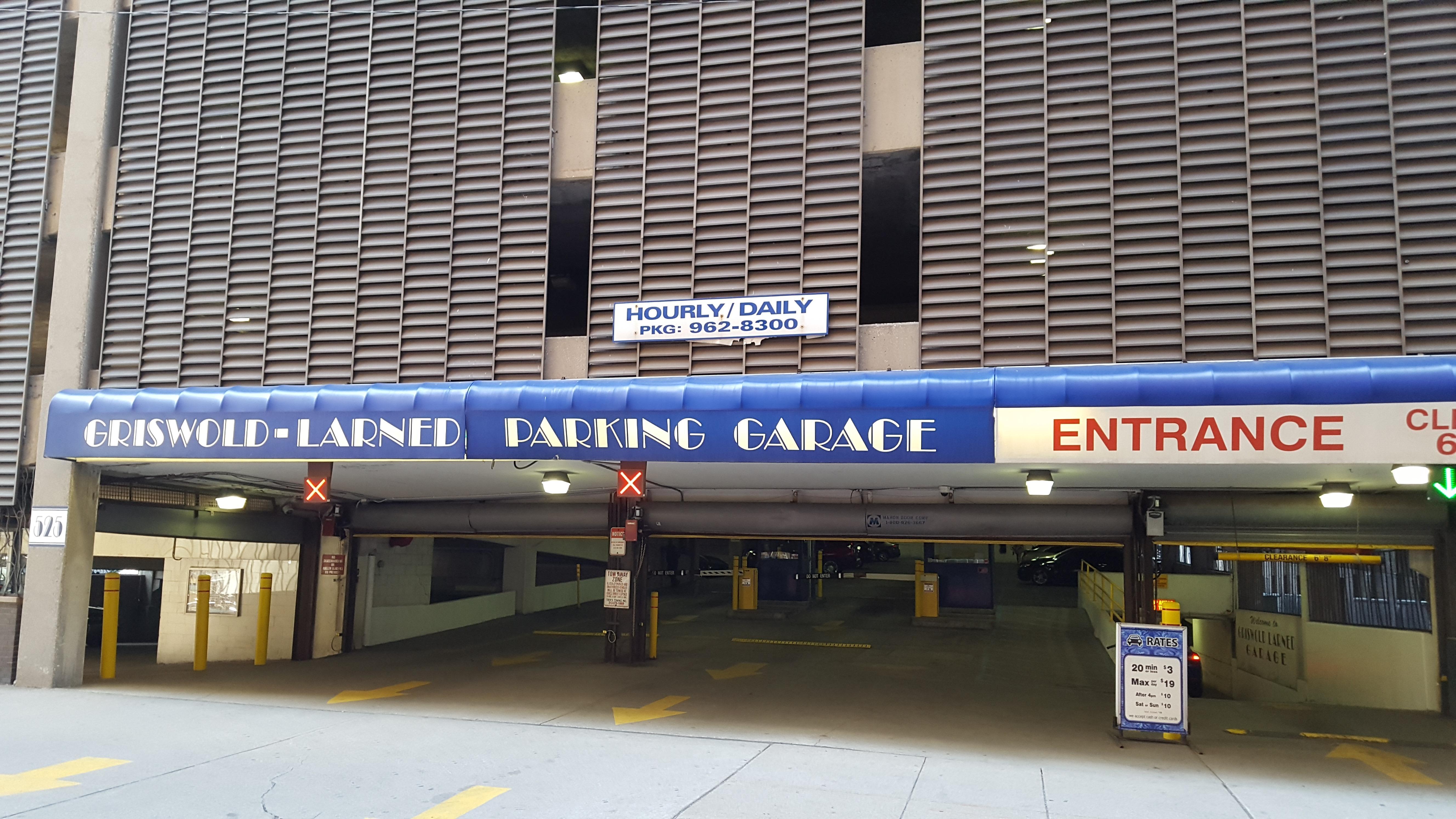 griswold larned parking garage parking in detroit parkme. Black Bedroom Furniture Sets. Home Design Ideas