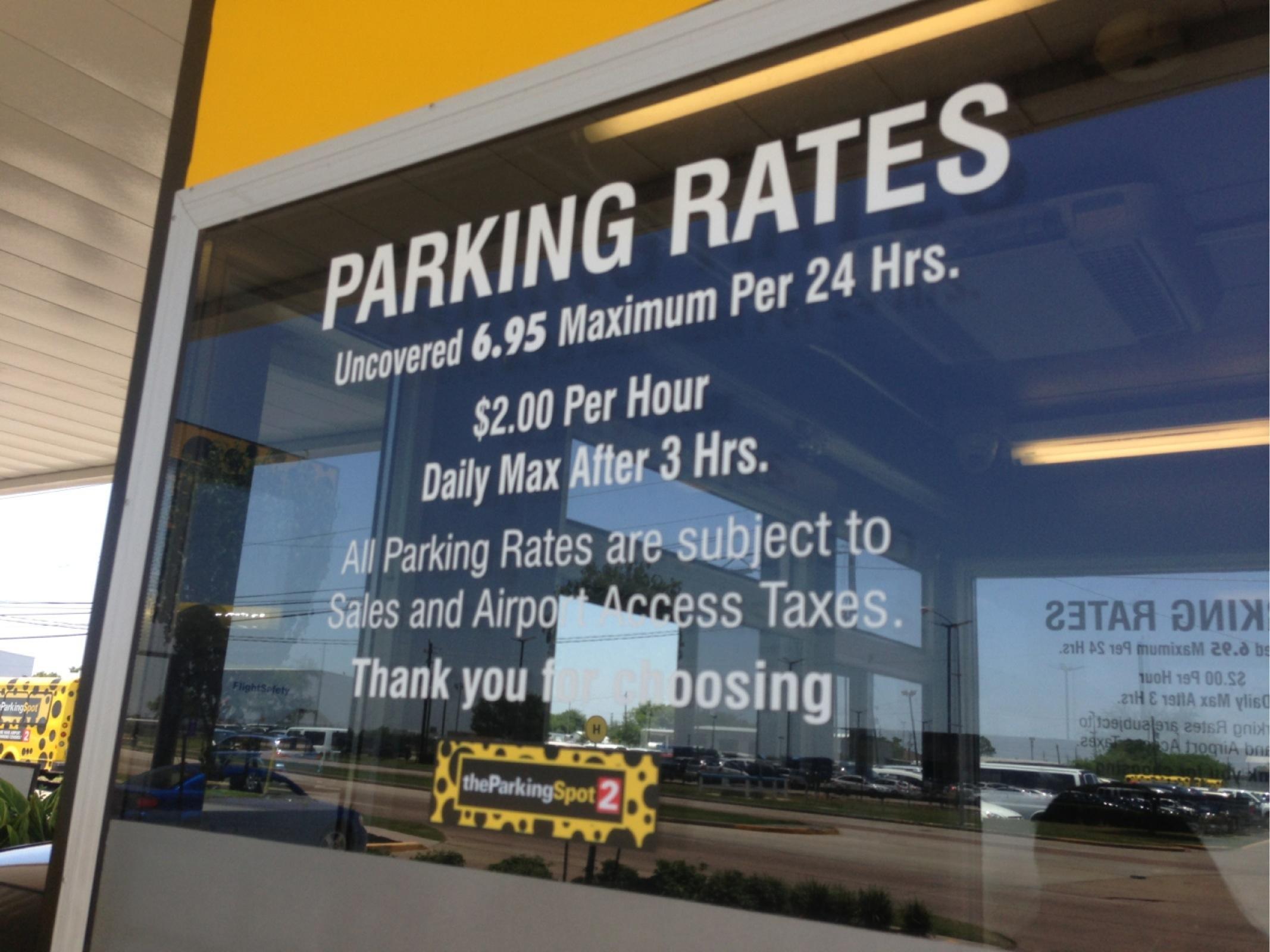 The parking spot coupon houston texas
