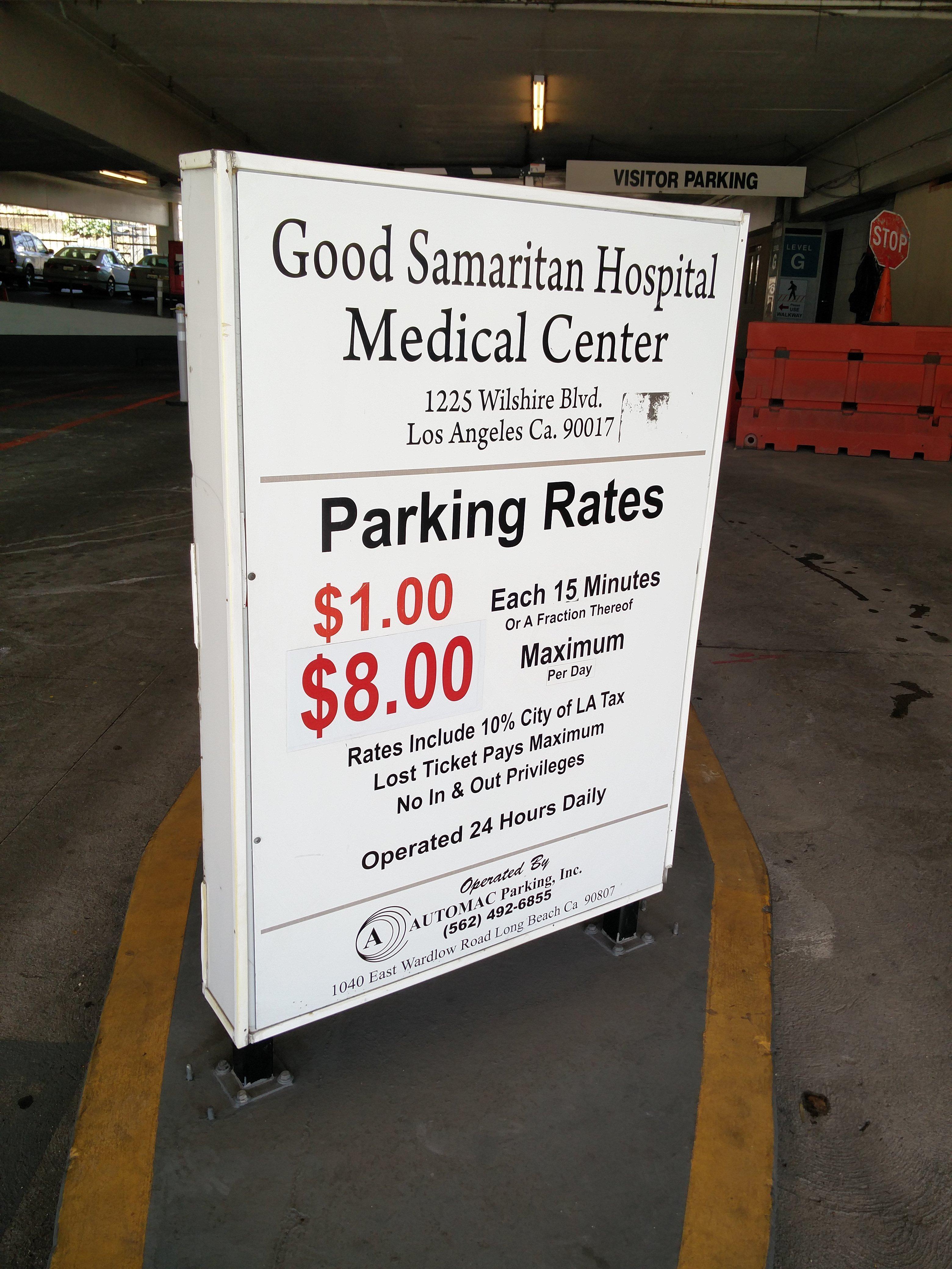 Good Samaritan Hospital Medical Center - Parking in Los