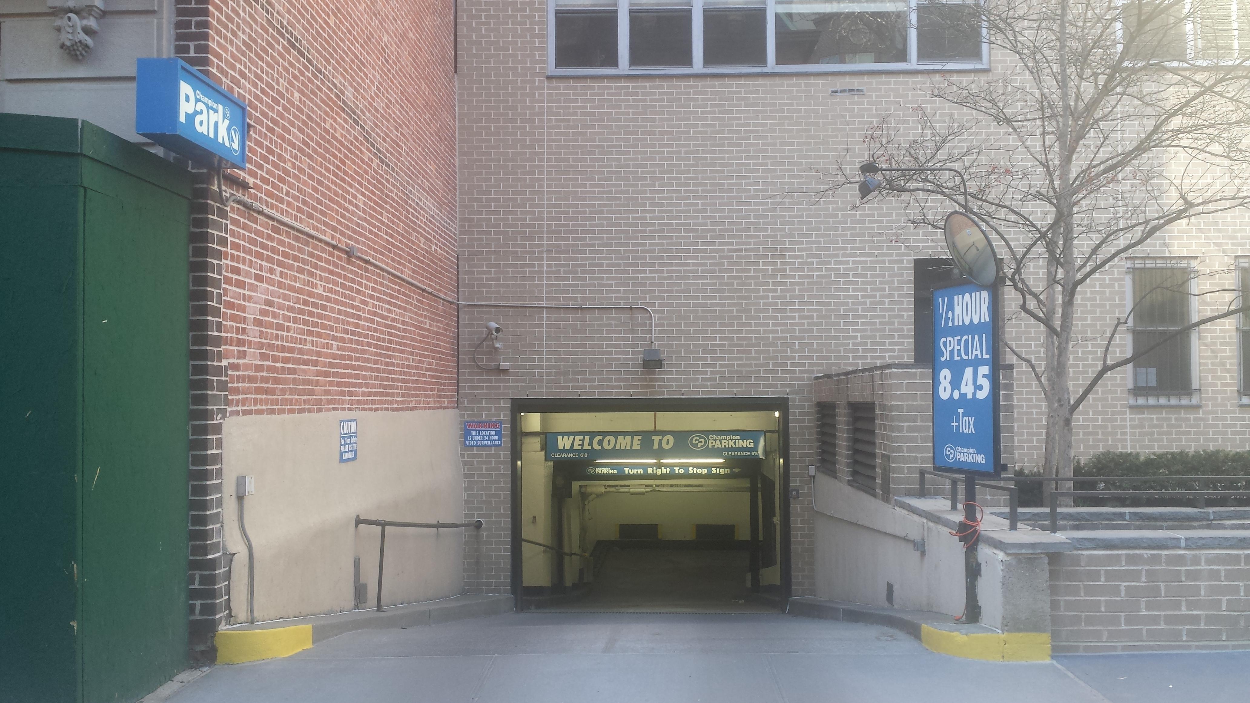 80 central park w garage parking in new york parkme for New york parking garage