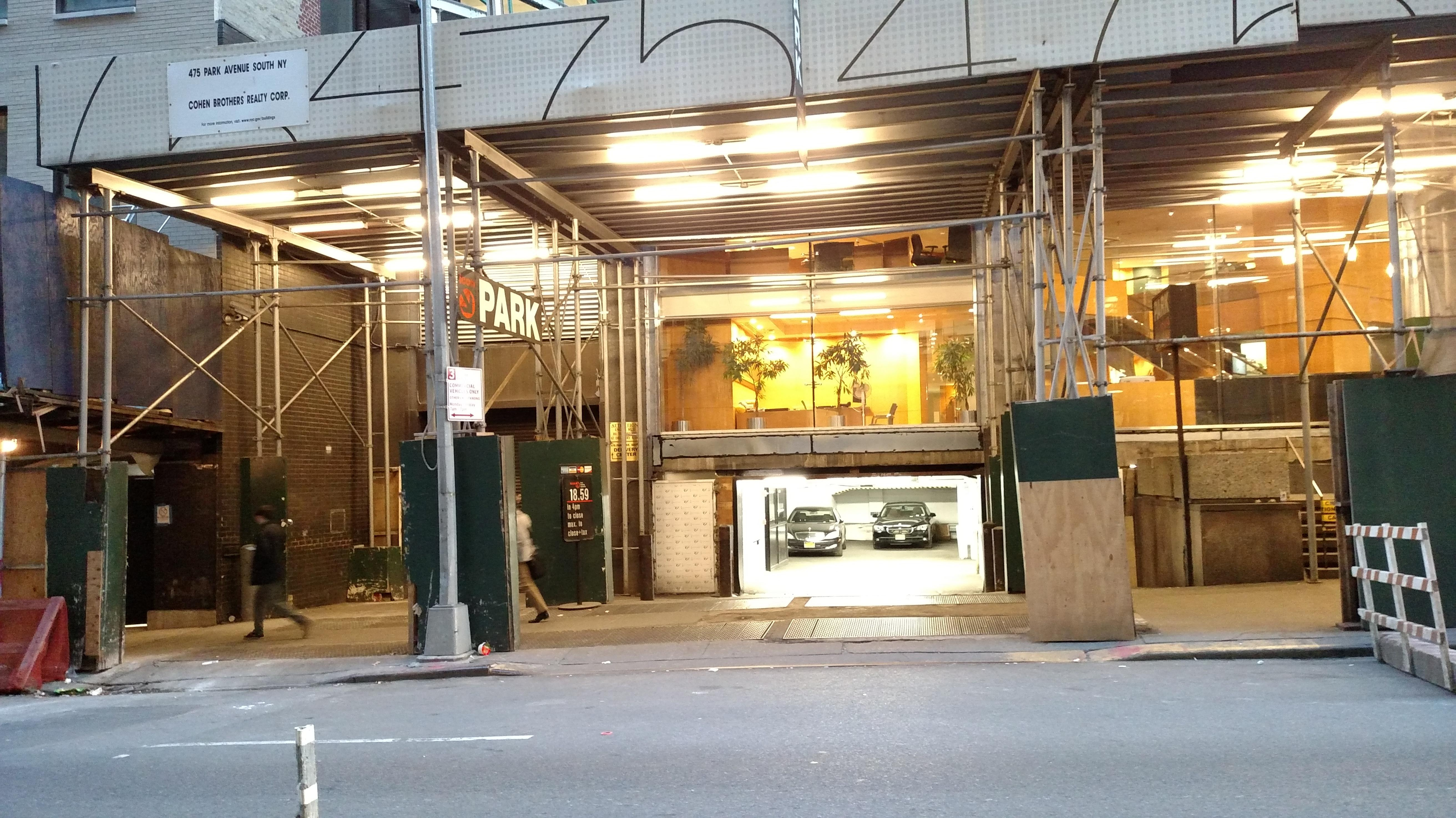 475 park ave s garage parking in new york parkme for New york city parking garage