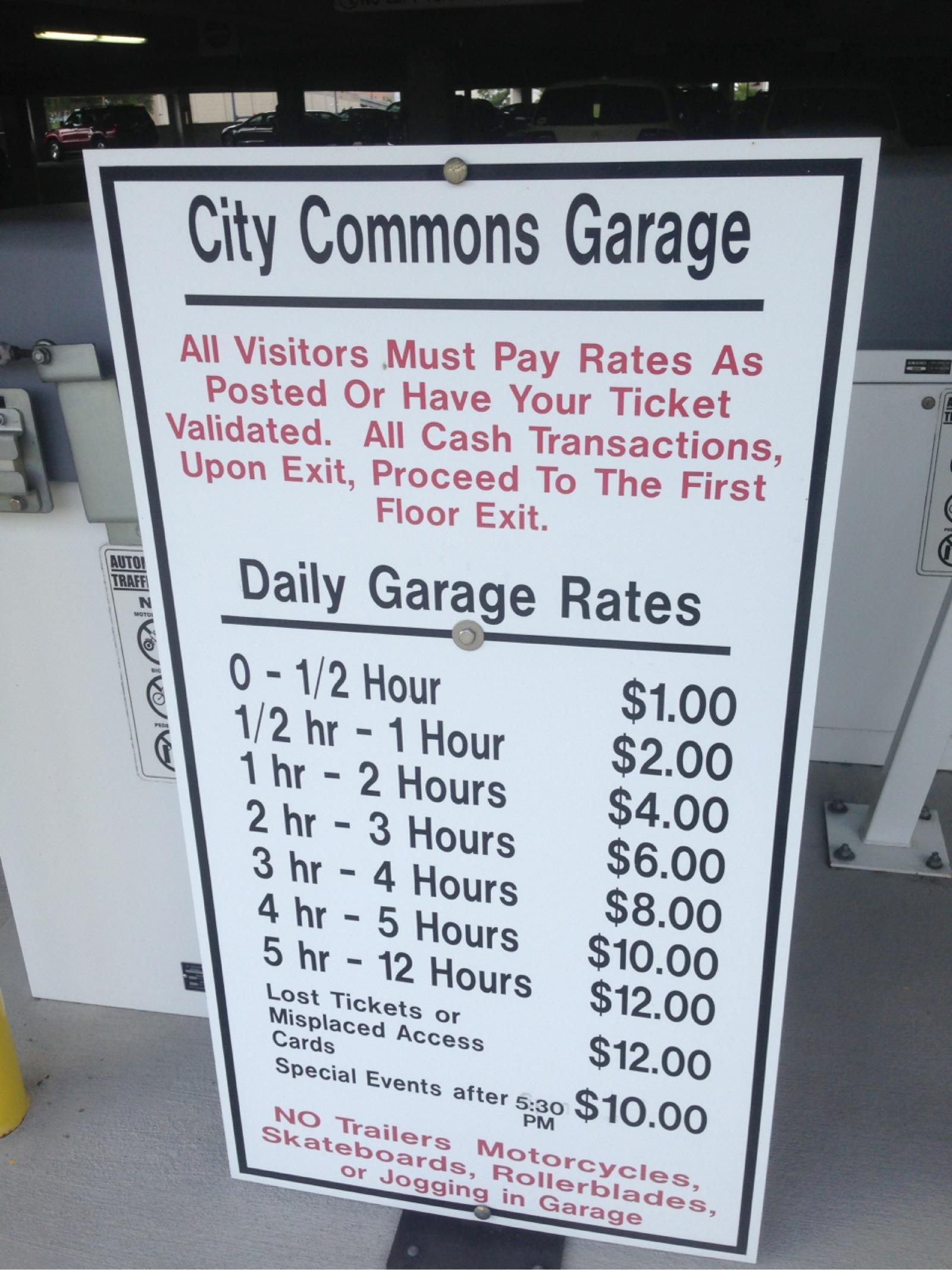 City Commons Parking Garage Orlando Fl