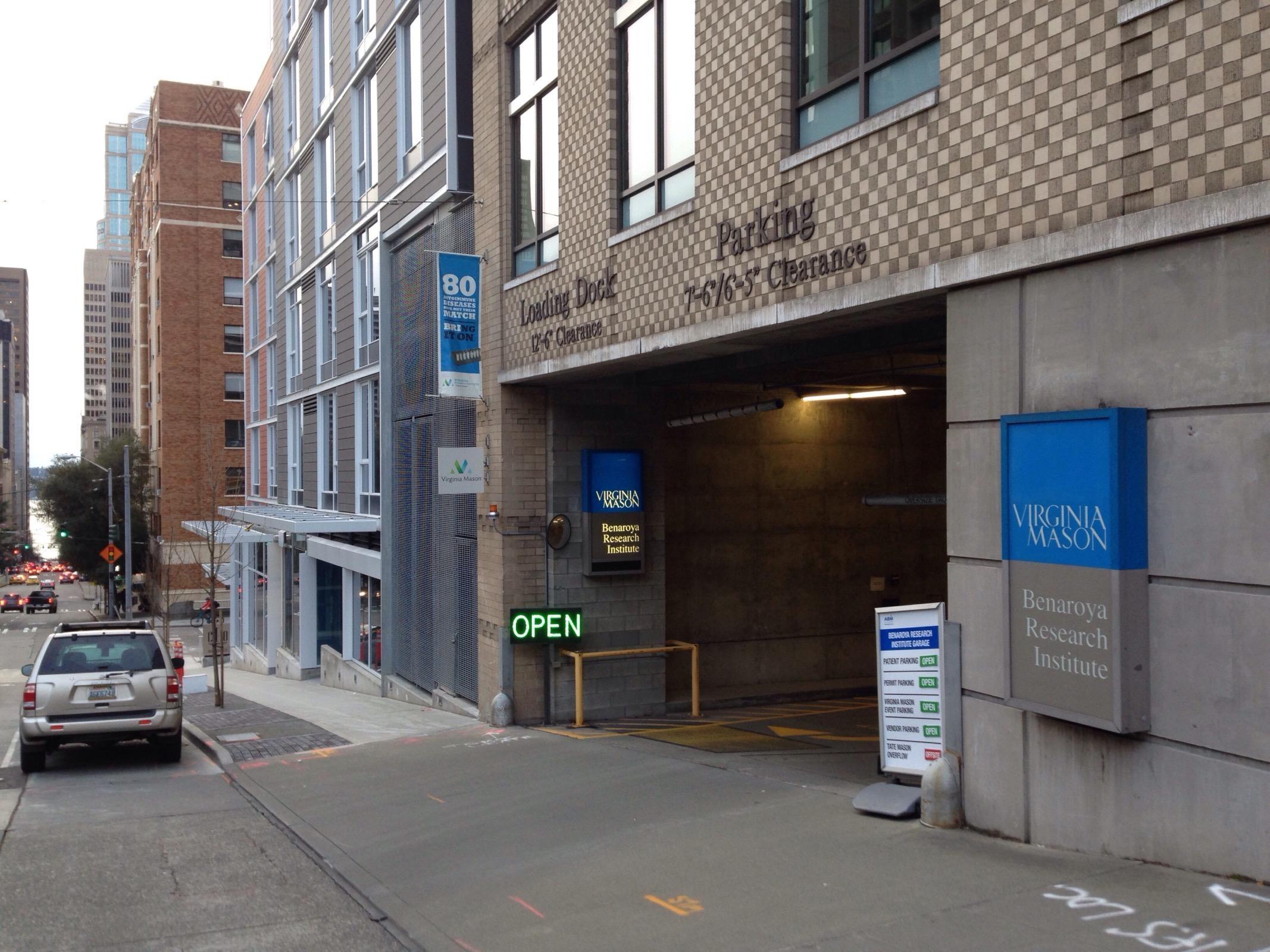 Benaroya Garage Parking In Seattle Parkme