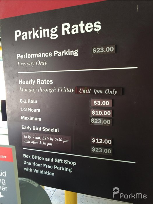 The Kennedy Center Parking In Washington Parkme
