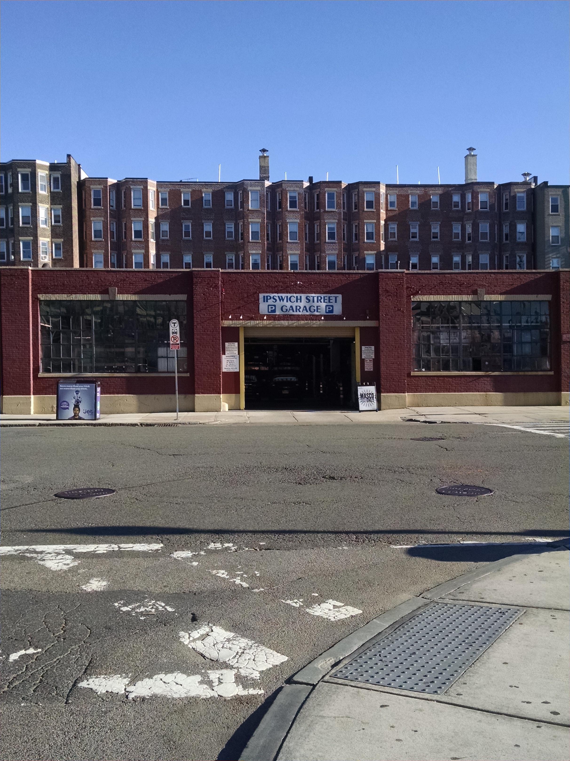 Ipswich Street Garage Parking In Boston Parkme