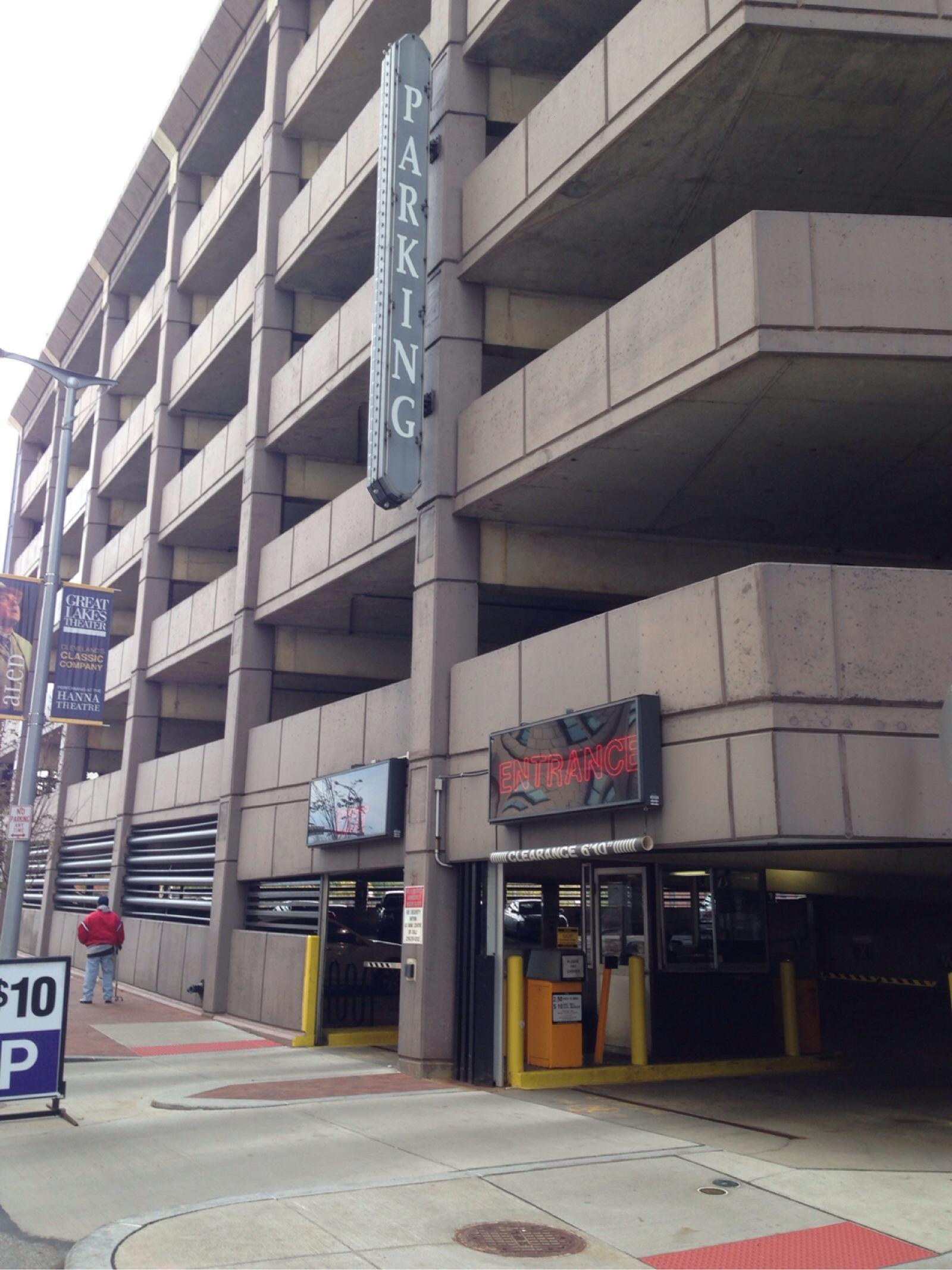 US Bank Parking Garage - Parking In Cleveland