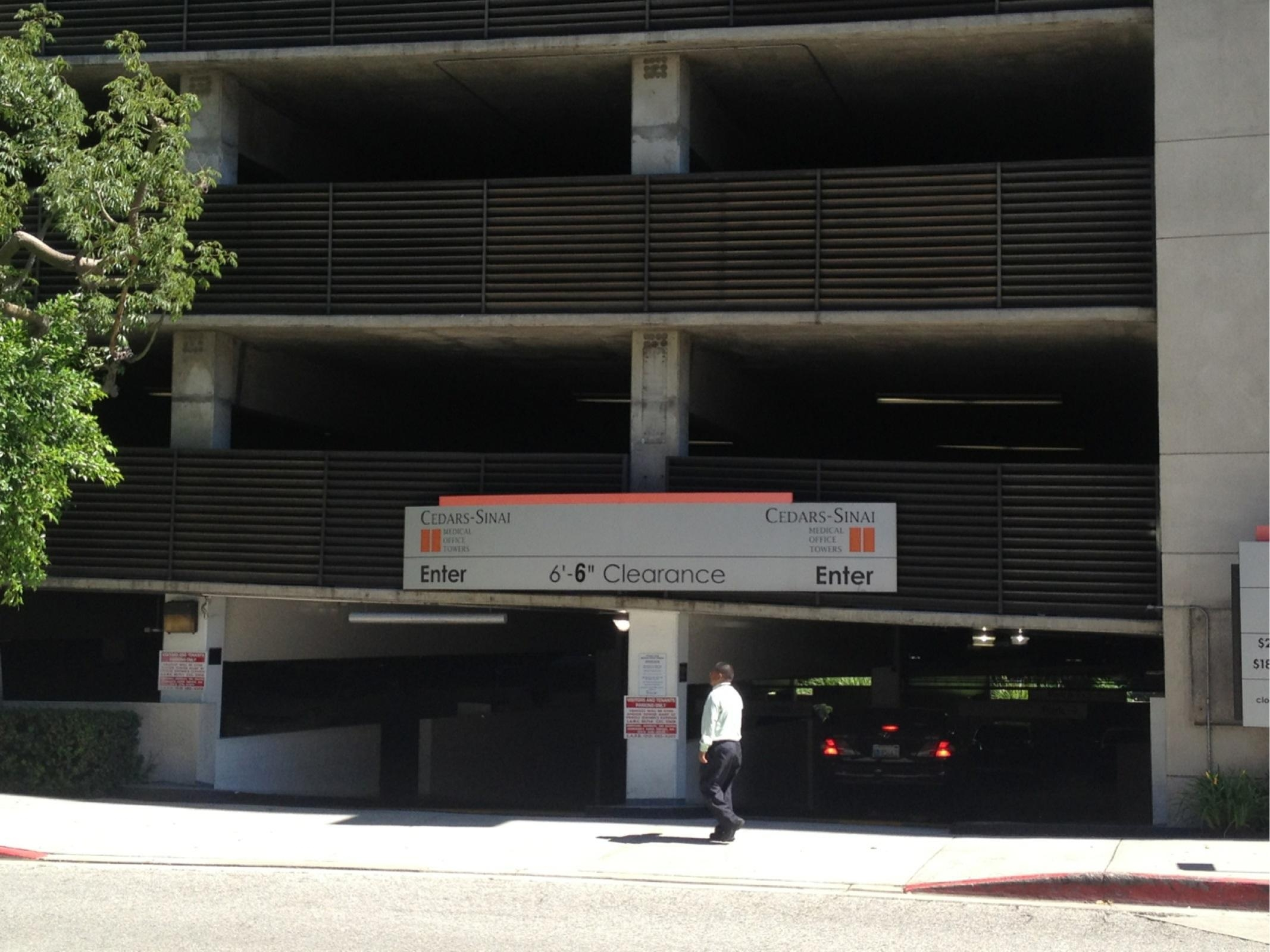 Cedars-Sinai Medical Office Towers - Parking in Los Angeles | ParkMe