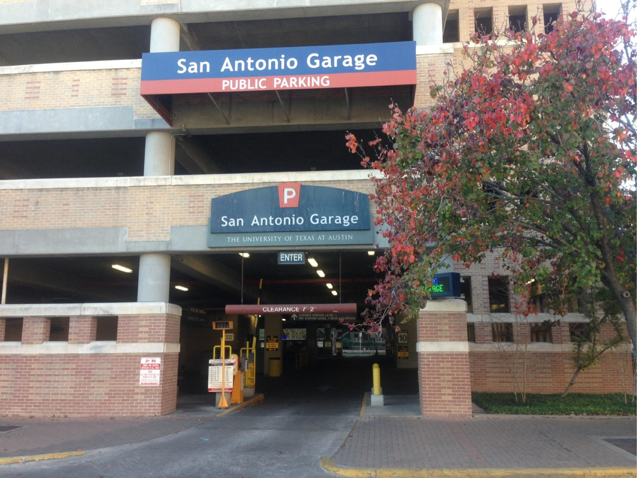 San Antonio Garage Parking In Austin Parkme