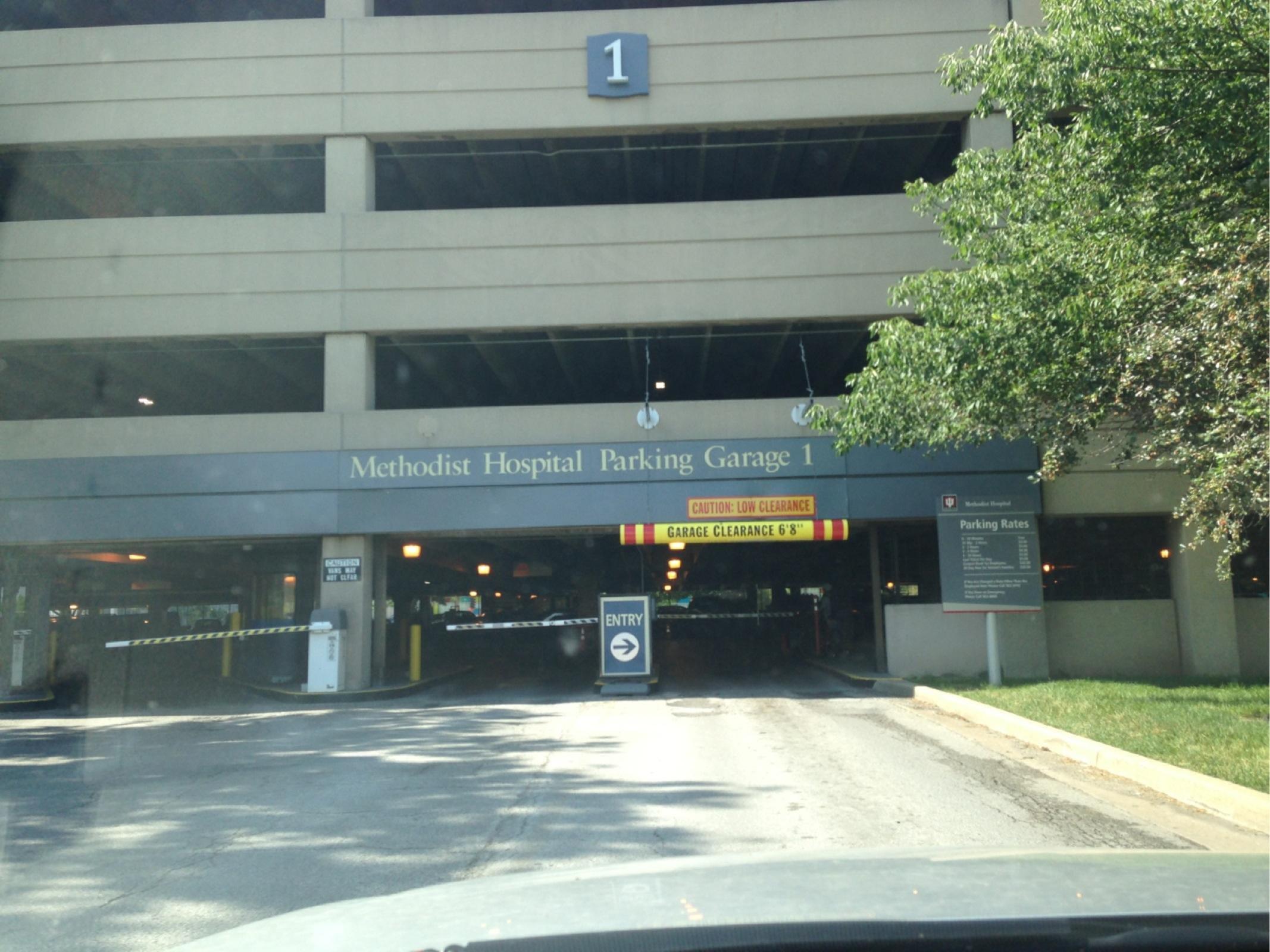 Methodist Hospital Parking Garage 1 - Parking in