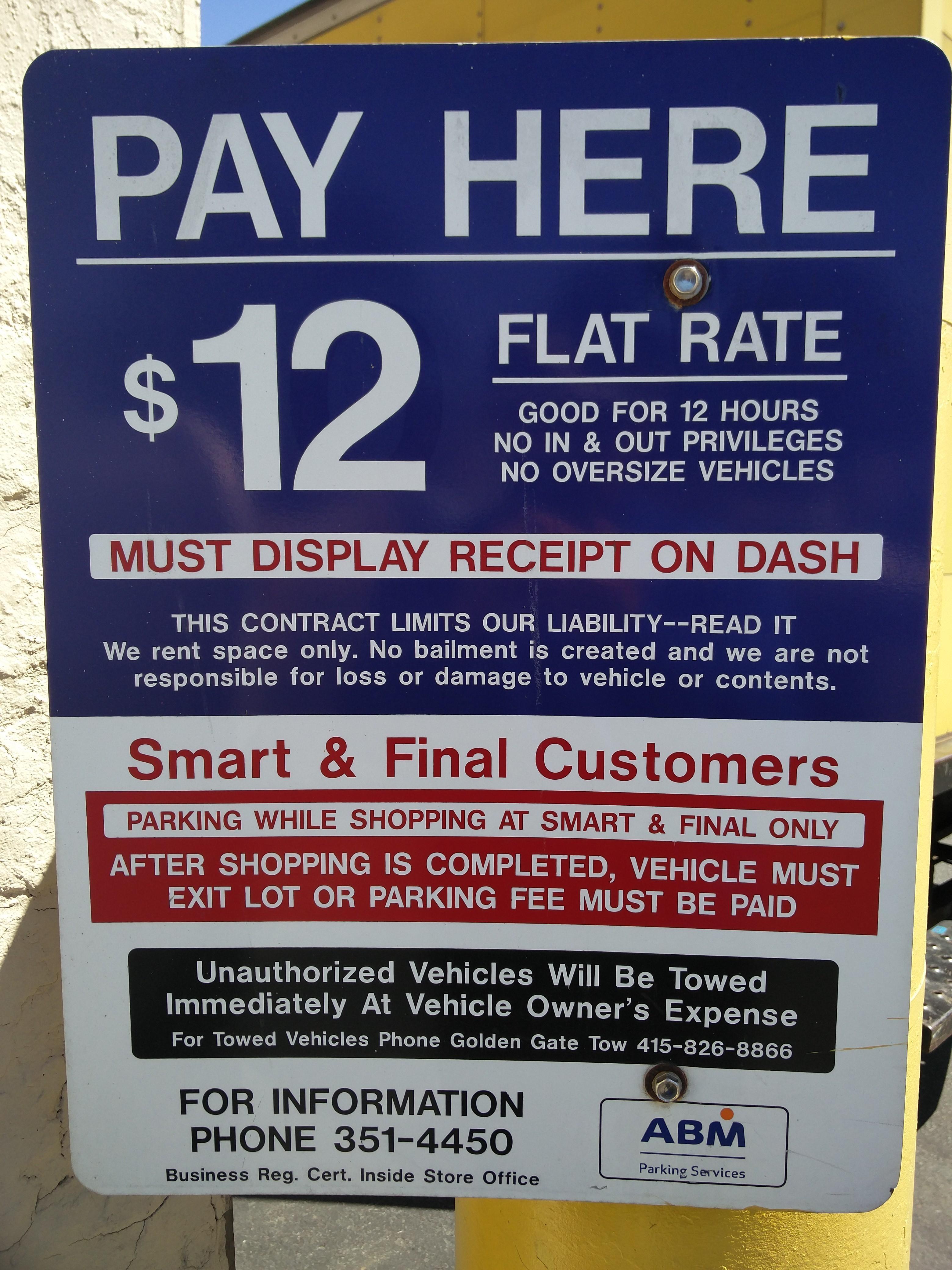 Smart & Final - Parking in San Francisco   ParkMe