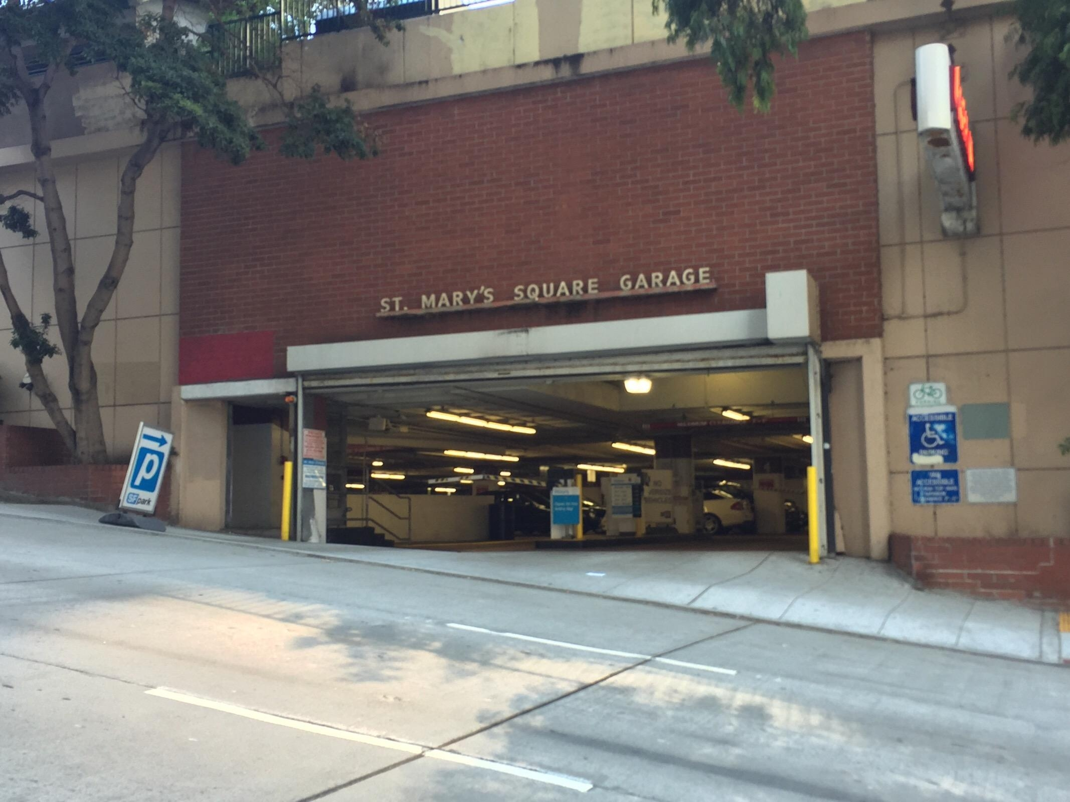 St mary 39 s square garage parking in san francisco parkme for Photo garage 94