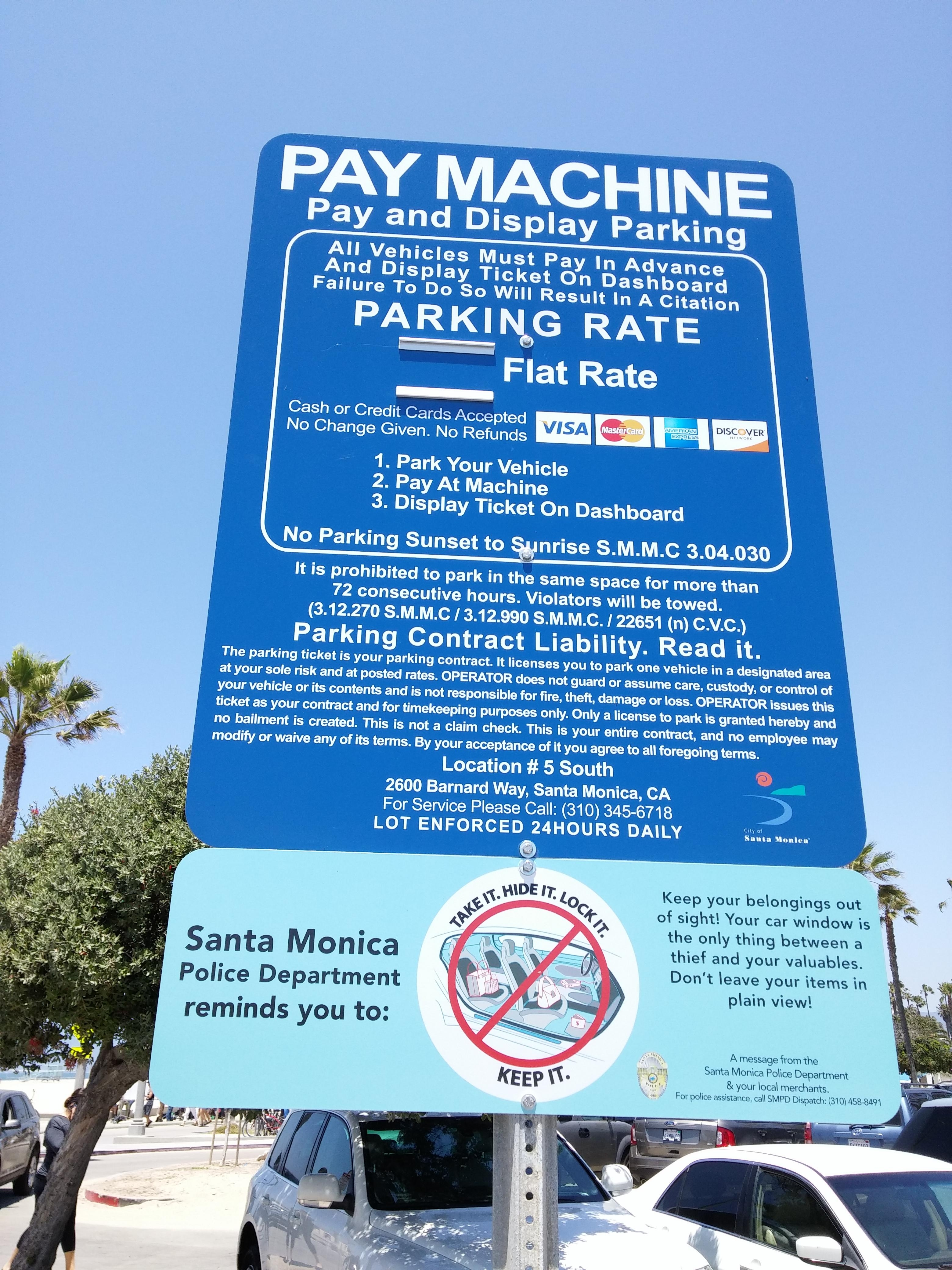 Lot 5 South Parking in Santa Monica