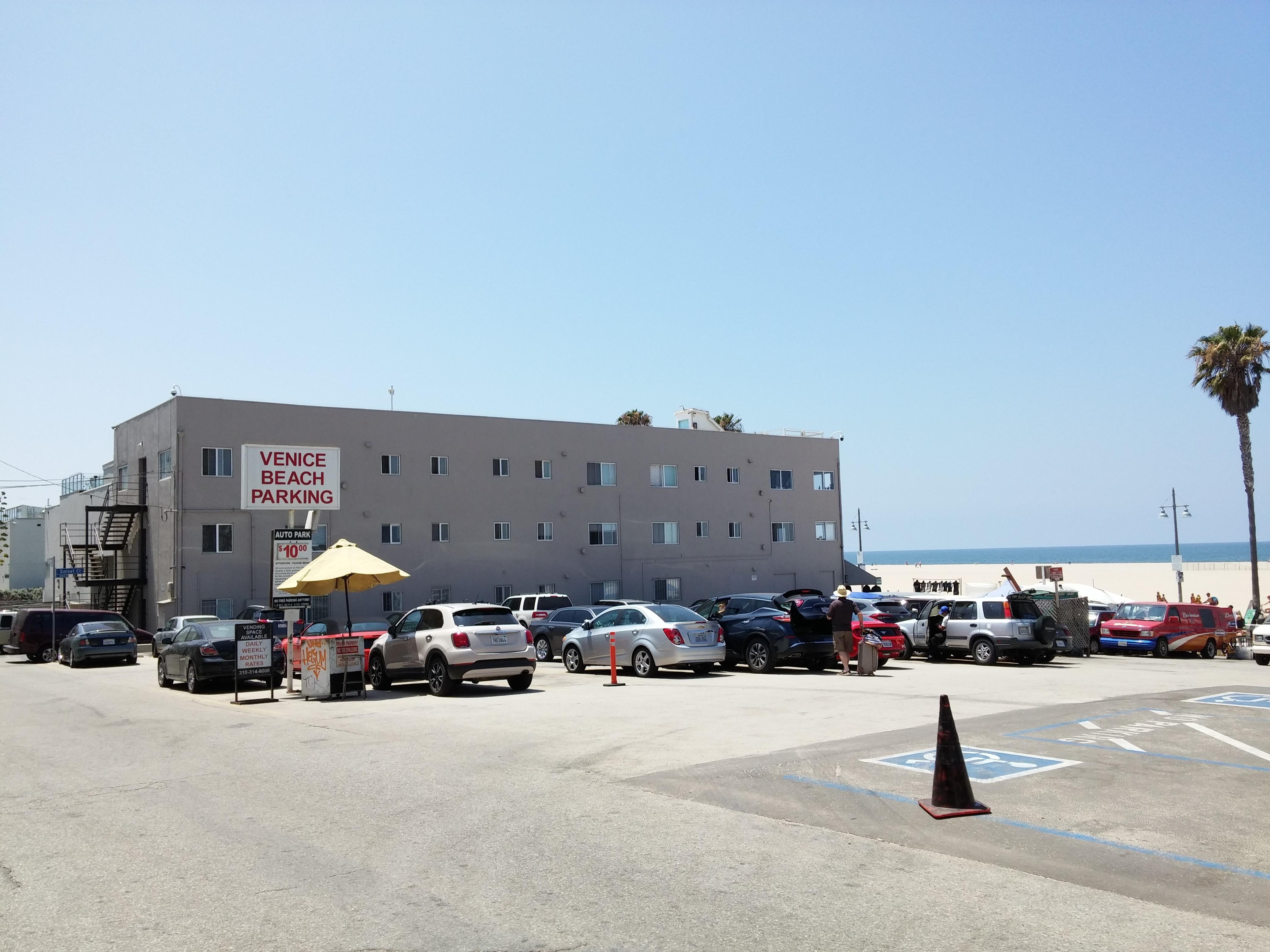 free parking venice beach los angeles