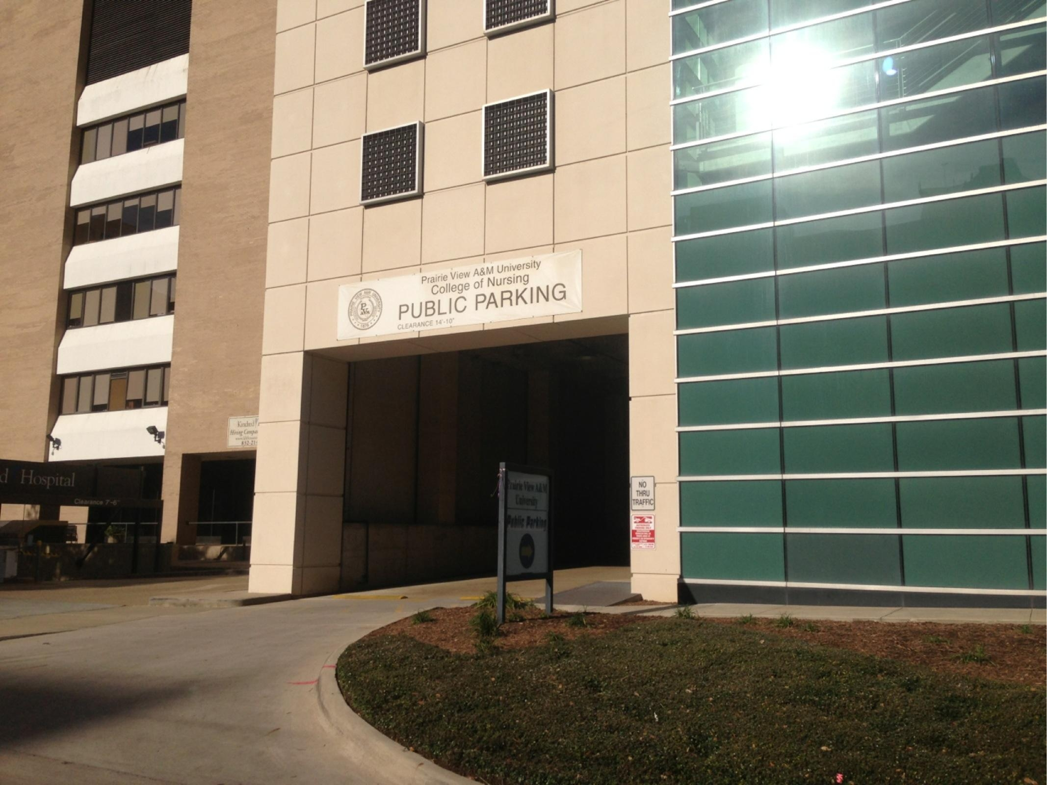 Prairie View Nursing >> The Prairie View A M University College Of Nursing Parking In