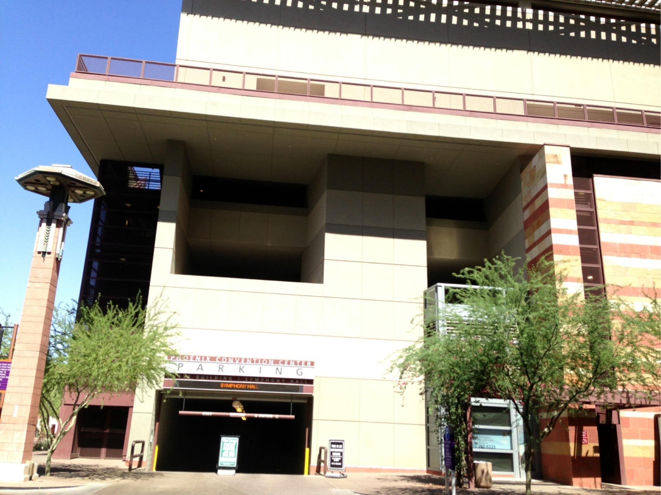 Civic Center Garage: Phoenix Convention Center West Garage