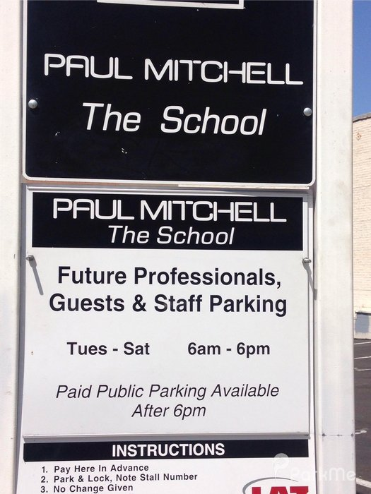 Paul Mitchell The School Parking In San Diego Parkme