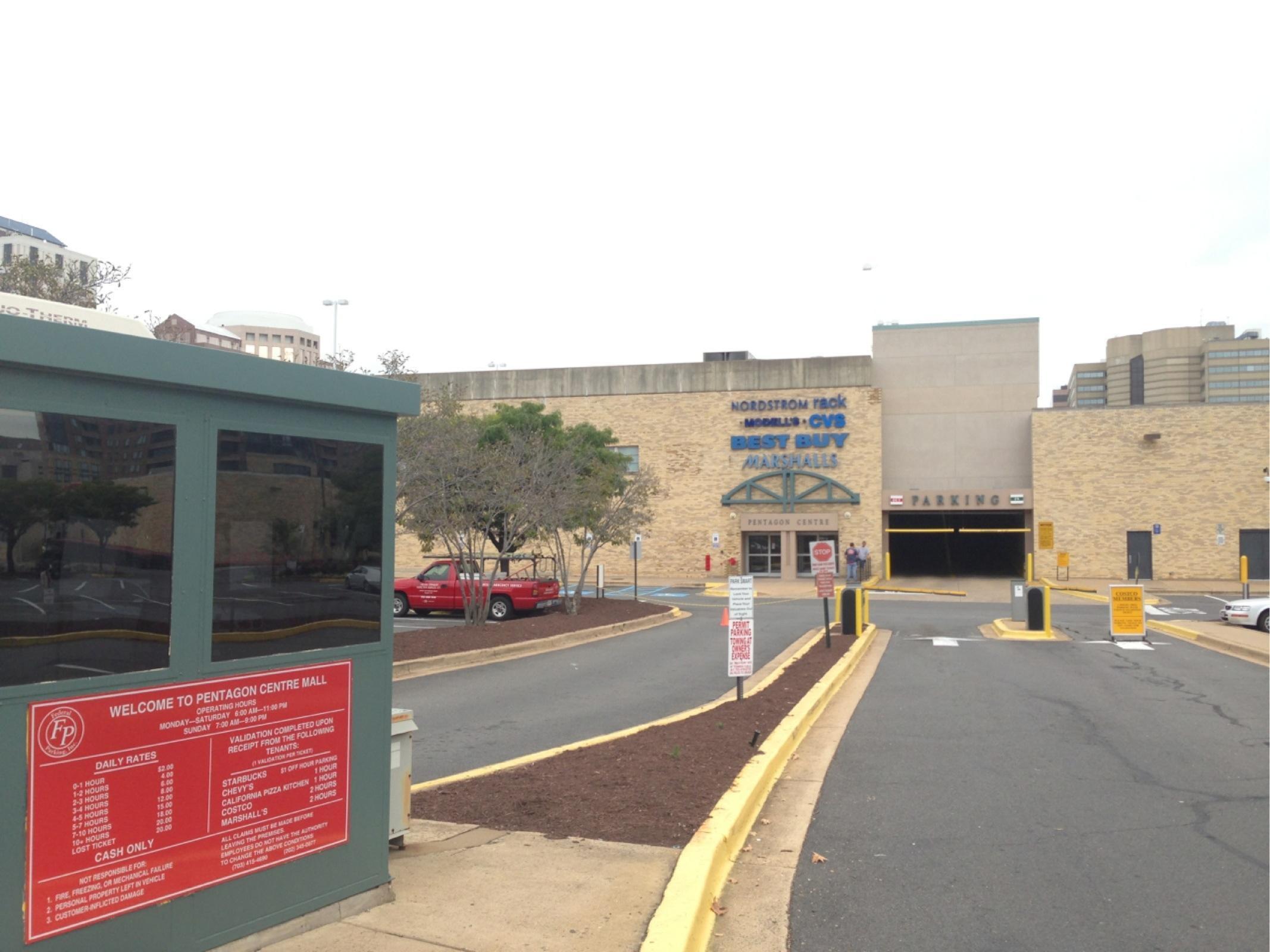 Pentagon Centre Mall Parkplatz In Arlington Parkme