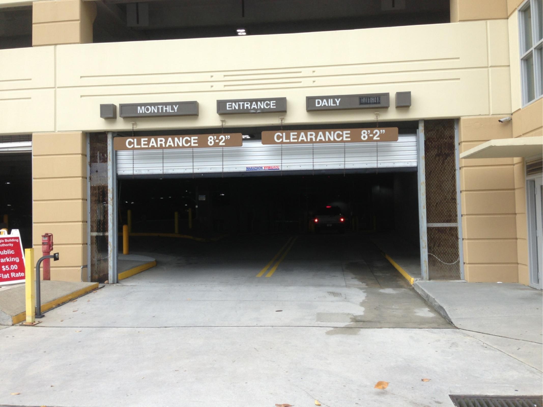 Pete Hackney Deck   Parking In Atlanta   ParkMe