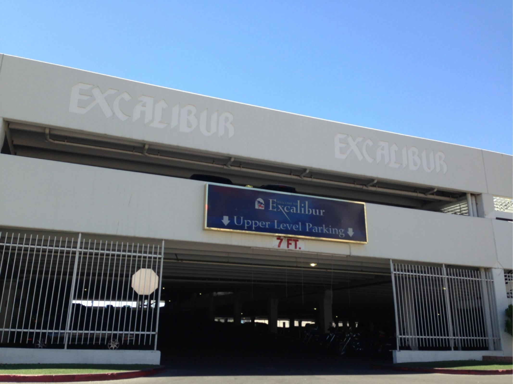Excalibur Hotel Casino Parking
