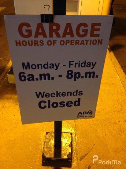 Oswald Garage - Parking in Cleveland | ParkMe