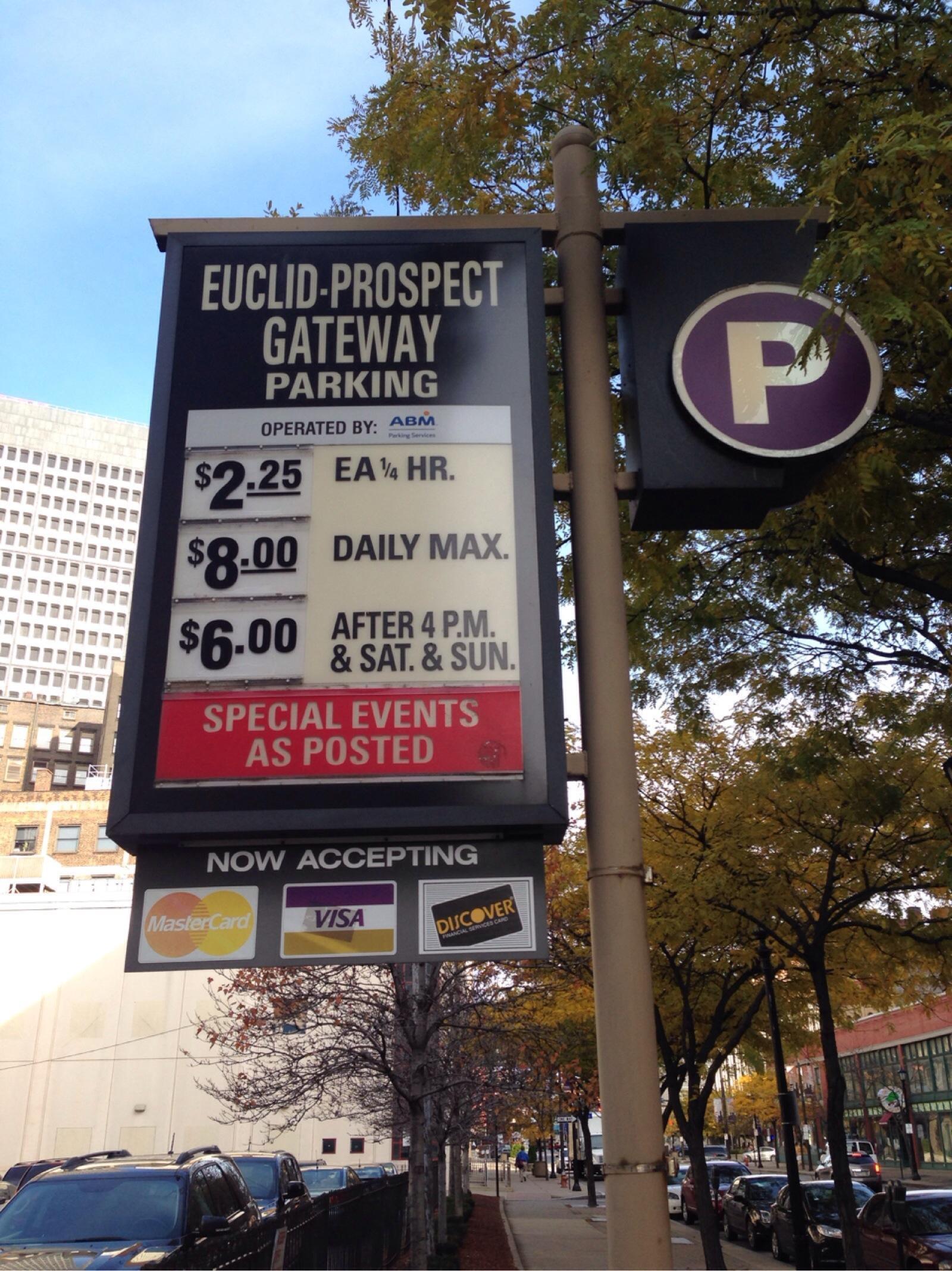 Euclid Prospect Gateway Garage Parking In Cleveland Parkme