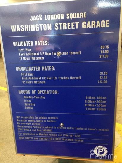 Jack London S Waterfront Parking Parking In Oakland Parkme