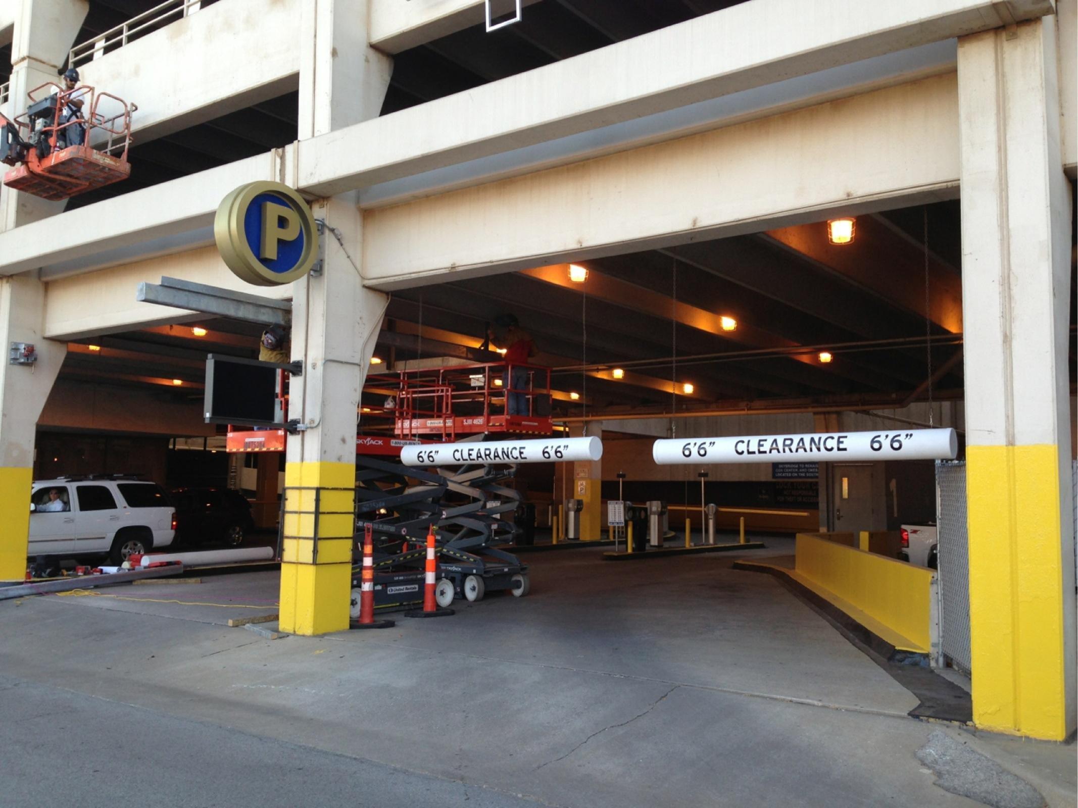 Santa Fe Garage Parking In Oklahoma City Parkme