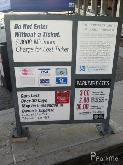 Lax P3 Parking In Los Angeles Parkme