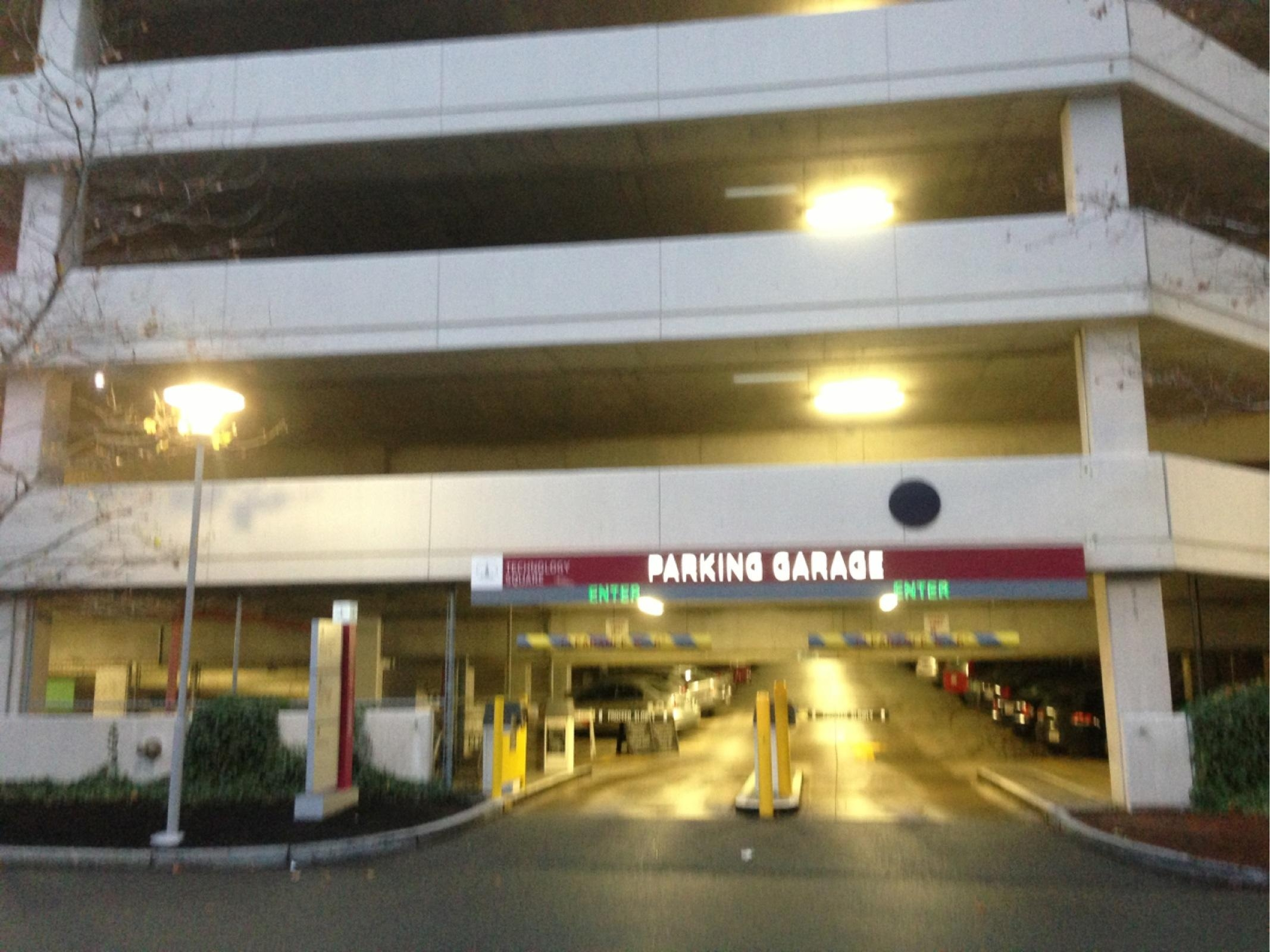 Technology Square Garage Parking