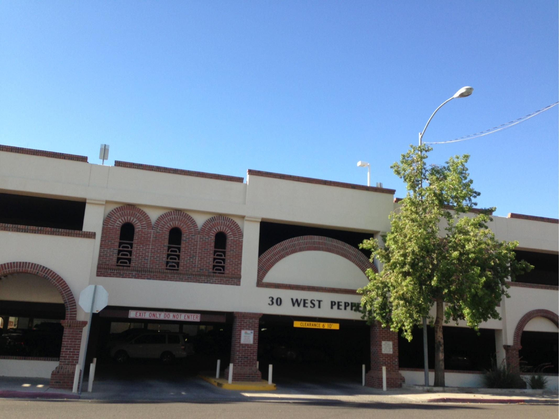 Arizona Museum Of Natural History Lot Parking In Mesa