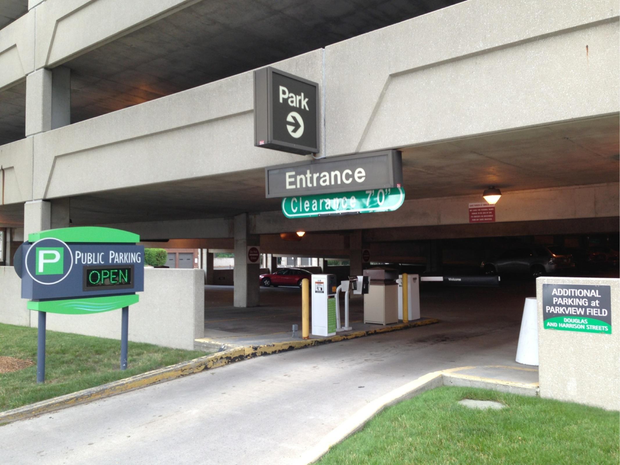 Civic Center Garage: Civic Center Parking Garage - Parking In Fort Wayne