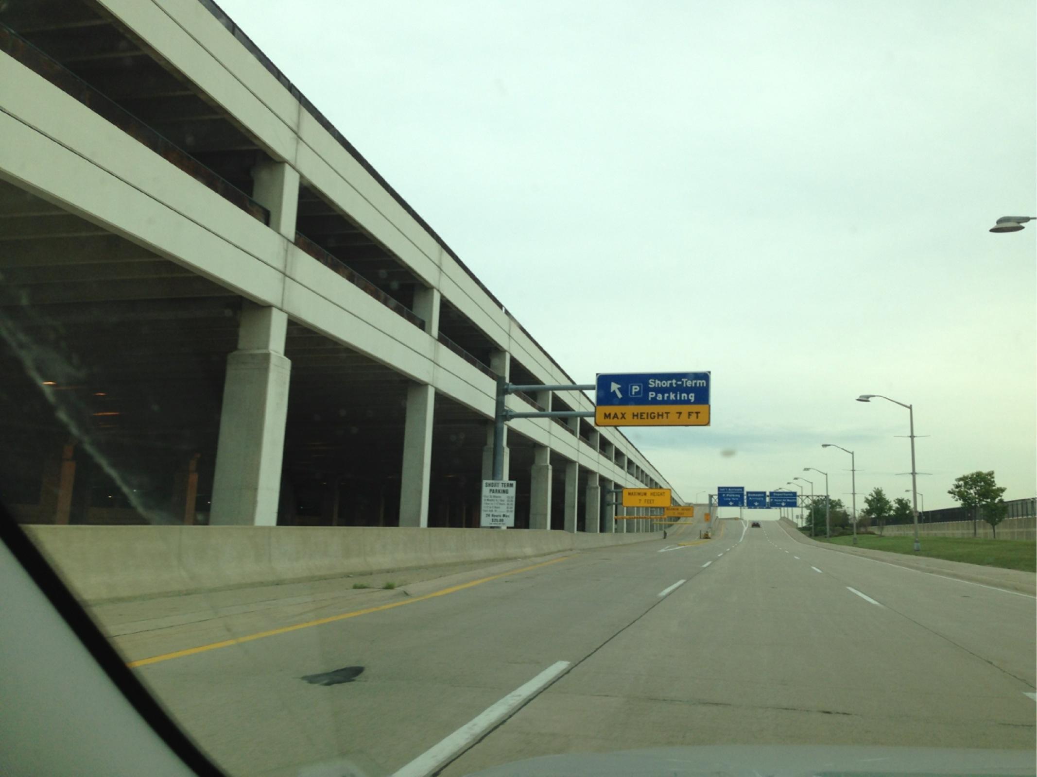 DTW - McNamara Short-Term Parking - Parking in Detroit | ParkMe Dtw Airport Parking Map on